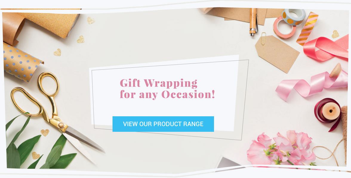 Gift wrapping for any occasion